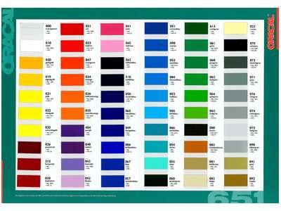 5,39€//1qm Oracal 651 Plotterfolie PVC Folie 63cm x 5m goldgelb 020 Außenbereic